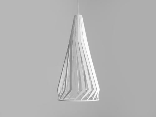 Lampa wisząca VEGA TALL - biały