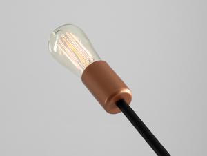Lampa wisząca EPO 3 - czarny small 4