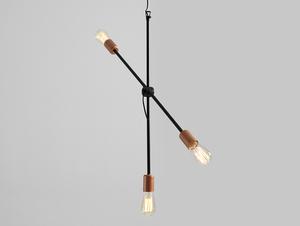 Lampa wisząca EPO 3 - czarny small 0
