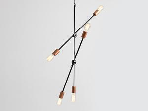 Lampa wisząca SECTO 5 - czarny small 3