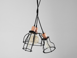Lampa wisząca WORKER TALL - czarny small 4