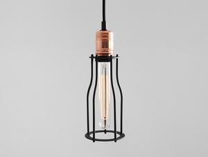 Lampa wisząca WORKER TALL - czarny small 0