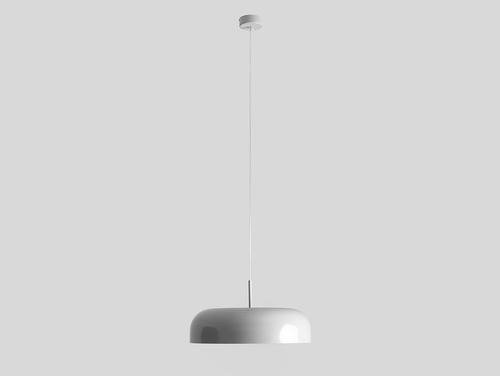 Lampa wisząca OW M - biały