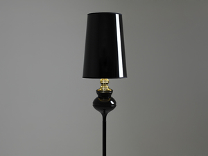 Lampa podłogowa AMBER FLOOR - czarny small 3
