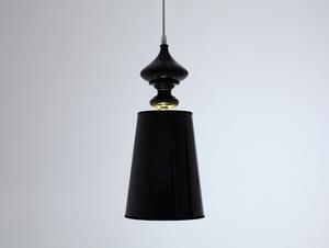 Lampa wisząca AMBER - czarny small 2