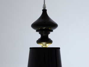 Lampa wisząca AMBER - czarny small 3