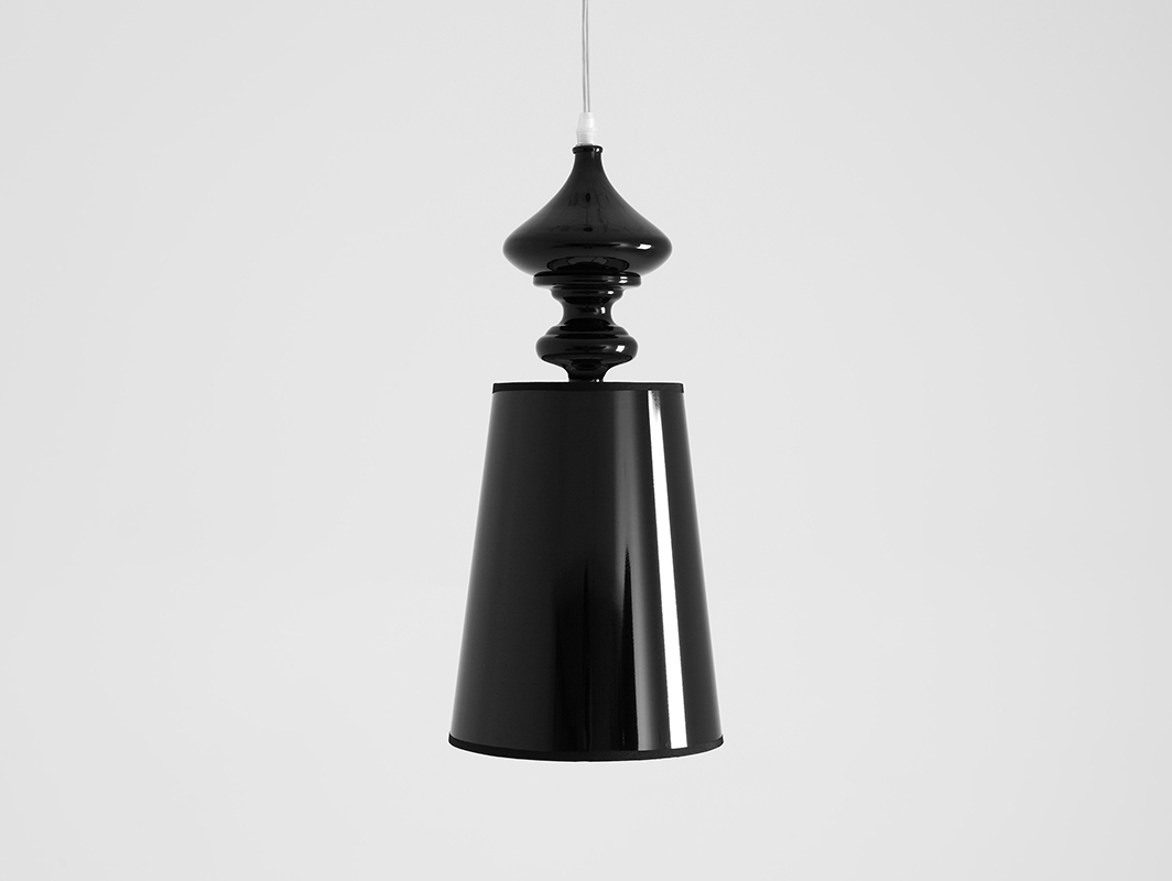 Lampa wisząca AMBER - czarny