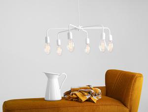 Lampa wisząca CROSER 6 - biały small 1