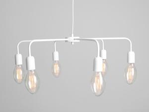 Lampa wisząca CROSER 6 - biały small 3