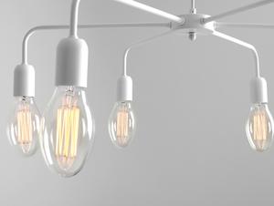 Lampa wisząca CROSER 6 - biały small 4