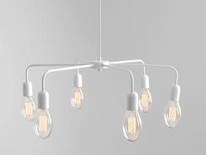 Lampa wisząca CROSER 6 - biały small 0