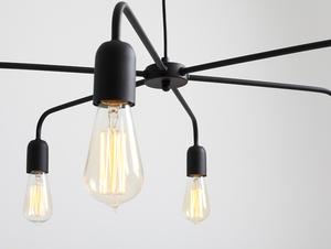Lampa wisząca CROSER 6 - czarny small 4