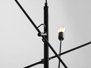 Lampa wisząca TWIGO 6 - czarny small 4
