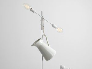 Lampa podłogowa TWIGO FLOOR 2 - biały small 1