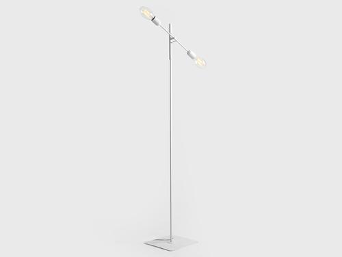 Lampa podłogowa TWIGO FLOOR 2 - biały