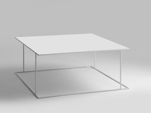 Stół kawowy WALT METAL 100x100