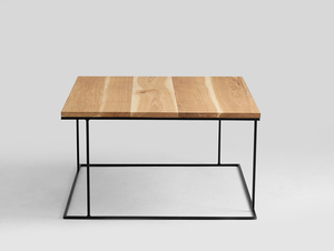 Stół kawowy WALT SOLID WOOD 100x100 small 3