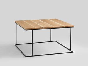 Stół kawowy WALT SOLID WOOD 100x100 small 0