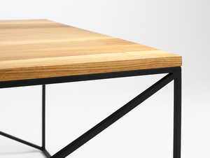 Stół kawowy MEMO SOLID WOOD 100x100 small 4