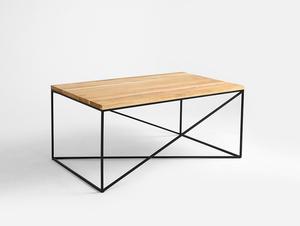 Stół kawowy MEMO SOLID WOOD 100x60 small 3