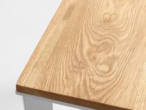 Stół kawowy SKADEN SOLID WOOD 100x60 small 4