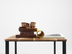 Stół kawowy SKADEN SOLID WOOD 100x100 small 1
