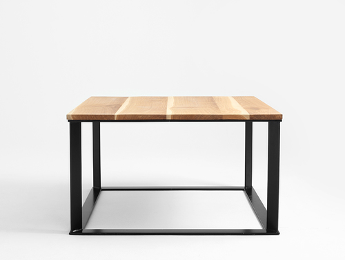 Stół kawowy SKADEN SOLID WOOD 100x100