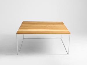 Stół kawowy TENSIO SOLID WOOD 100x100 small 3