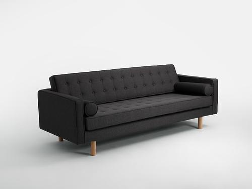 Sofa rozkładana 3 os. TOPIC WOOD