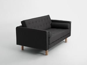 Sofa rozkładana 2 os. TOPIC WOOD small 3