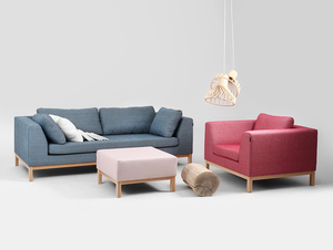 Sofa 2 os. AMBIENT WOOD small 1