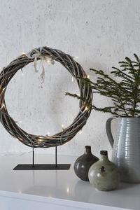 KILSTORP Pierścień stołowy 35cm Szary small 1