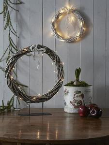 KILSTORP Pierścień stołowy 35cm Szary small 2