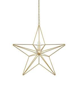 TJUSA Stojąca dekoracja 42cm E14 Golden small 1