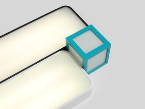 Plafon LAXO 90x20 - biały small 1