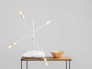 Lampa wisząca TWIGO 4 - biały small 1