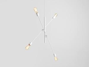 Lampa wisząca TWIGO 4 - biały small 0