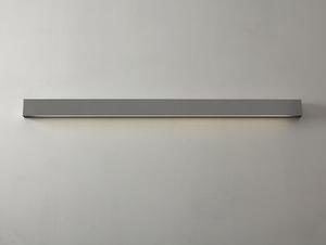 Lampa ścienna LINE WALL LED M - srebrny small 2