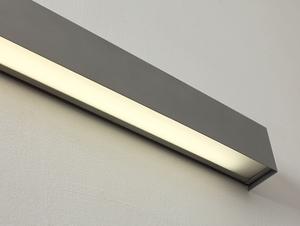 Lampa ścienna LINE WALL LED M - srebrny small 3