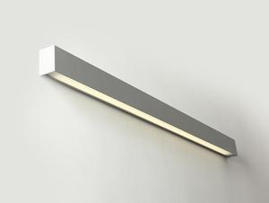 Lampa ścienna LINE WALL LED M - srebrny small 0