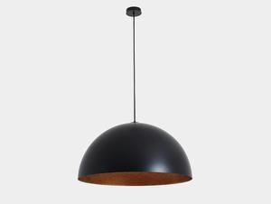 Lampa wisząca LORD 70 - miedziano-czarny small 0