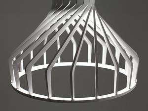 Lampa wisząca VEGA FAT - biały small 3