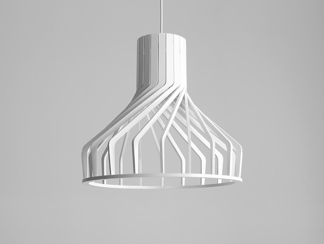 Lampa wisząca VEGA FAT - biały