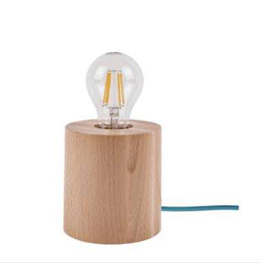 Lampa Stolowa Trongo Buk Rozne Kolory Kabla E27 60w Sklep Z