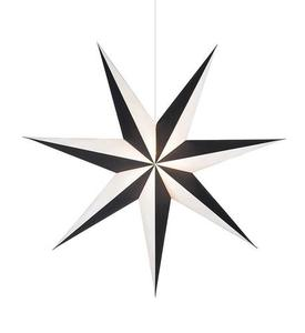 ALVA wisiorek Gwiazda 1m czarno biała small 1