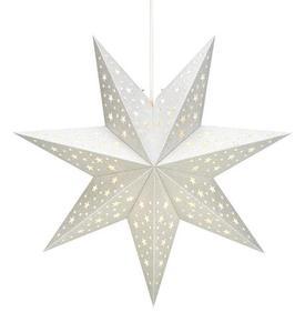 SOLVALLA gwiazda papierowa wisiorek srebrny small 1
