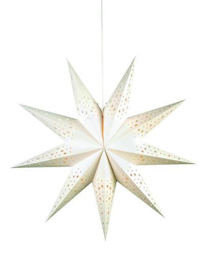 OLVALLA Gwiazda 75cm biały księga