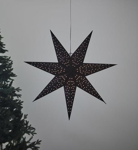 CLARA wisiorek Gwiazdka 75 Czarny