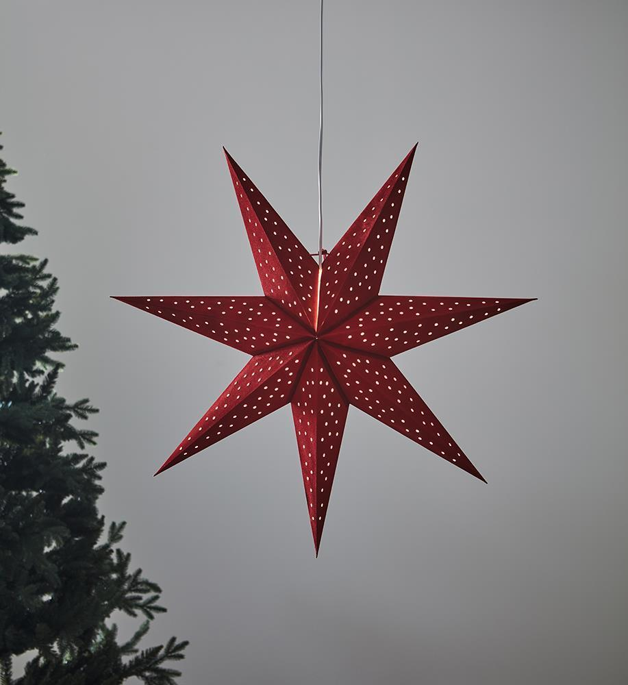 CLARA wisiorek Gwiazdka 75 Red