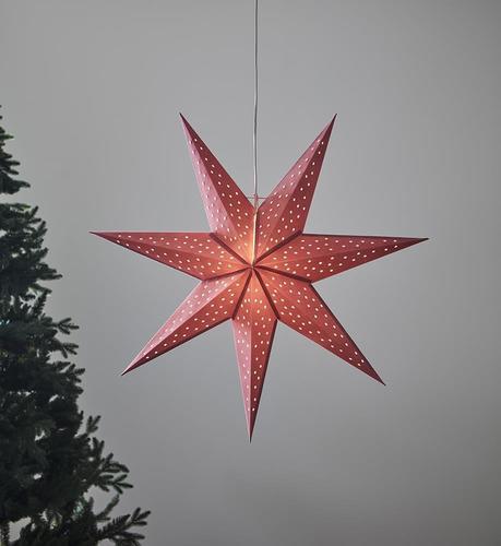 CLARA wisiorek Gwiazdka 75 Różowy